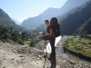 Photo prise lors de l'étape 2 du trek du tour du Dhaulagiri