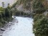 Le chemin à la sortie de Darbang